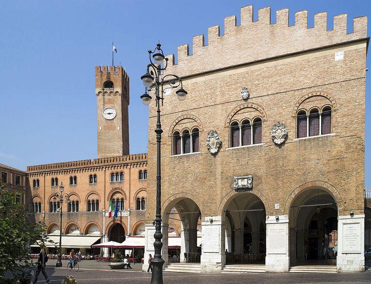Treviso - Piazza dei Signori e Palazzo dei Trecento