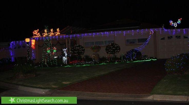 Christmas Lights at 12 Engel Drive, Salisbury East (http://xmaslights.co/salisburye)