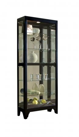 Lowest Price Online On All Pulaski Onyx Curio Cabinet