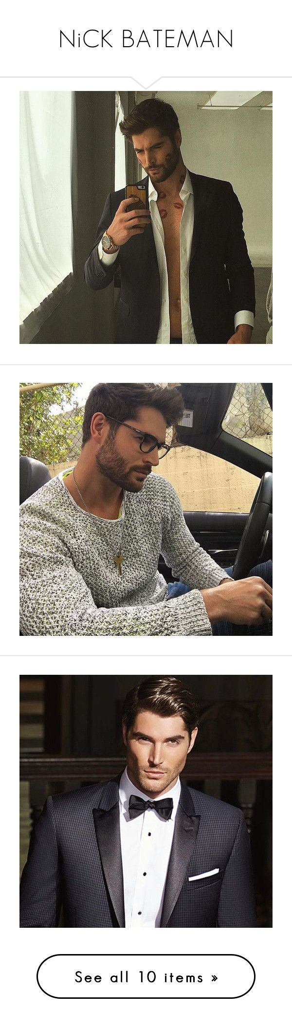 """""""NiCK BATEMAN"""" by one-lxttle-kiss ❤ liked on Polyvore featuring dnxcingclipped"""