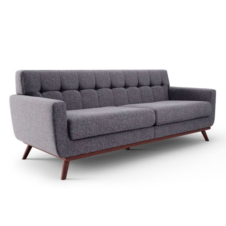 Features: -Dramatic mid-century modern styling. -Perfectly suitable for your apartment or home. -Two spacious and comfortable seat cushions. Design: -Standard. Style: -Contemporary/Mid-century/Mo