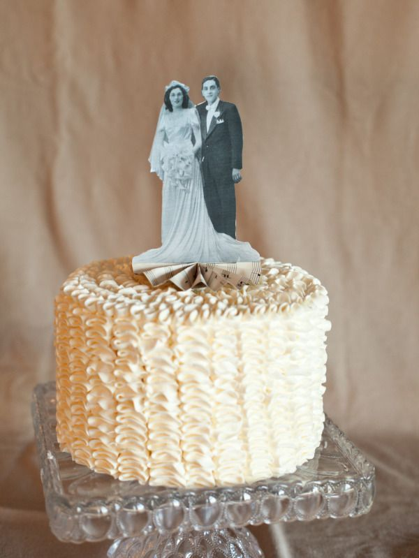 Diy Heirloom Cake Topper Diy Hochzeit Pinterest Wedding