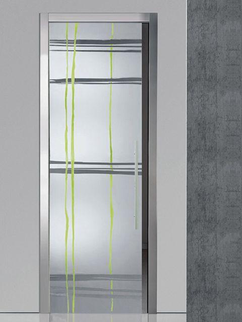 31 mejores im genes sobre puertas cristal decorativas en - Puerta corredera orchidea ...
