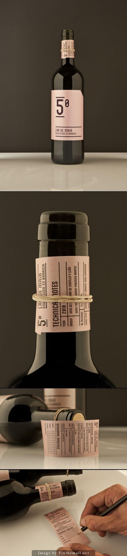 Label / wine / Lar de Maía by Javier Garduno #taninotanino
