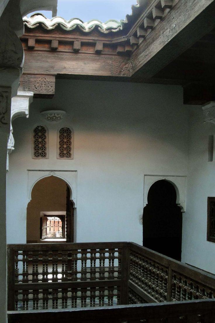 Marrakech 121118-1710 by Schoendy. Medersa Ben Youssef