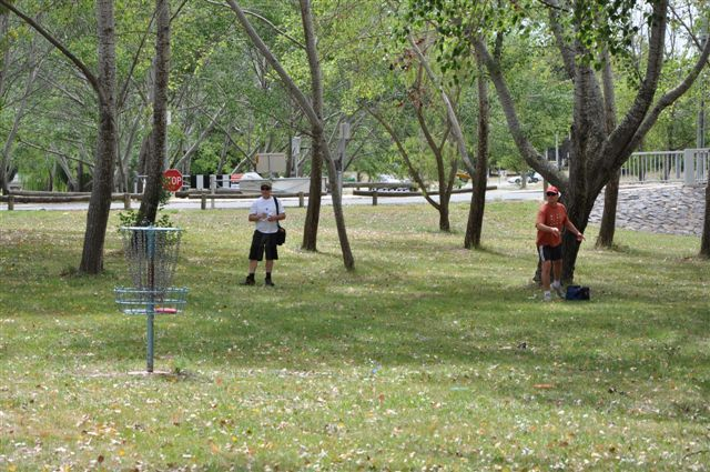 Disc Golf is played at Eddison Park using the same concepts as club/ball golf, except you throw a disc (frisbee) from tee-off to hole. The hole is an elevated metal basket, into which the disc lands. It is free flying frisbee fun. Open to play disc golf at any time with your own disc or [...]