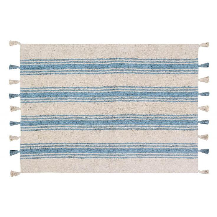 Dywan Lorena Canals Stripes niebieski