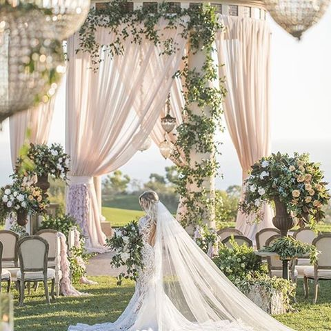 Happily ever after begins here. #EveryDayIsAWeddingDay #PelicanHillWedding Design, planning and production by @agoodaffair. Photo by @jessicaclaire. Floral Design by @bloomboxdesign.
