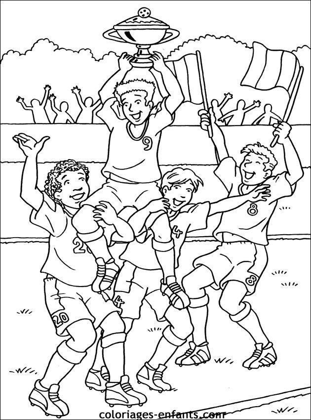 Coloriage Foot A Imprimer Sports Coloring Pages Coloring Pages Football Coloring Pages