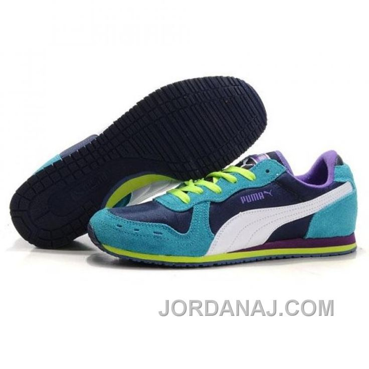 Women's Puma Usain Bolt Running Shoes Blue Purple White Super Deals