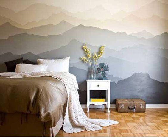 Wandgestaltung im Schlafzimmer - Kreative Wohnideen