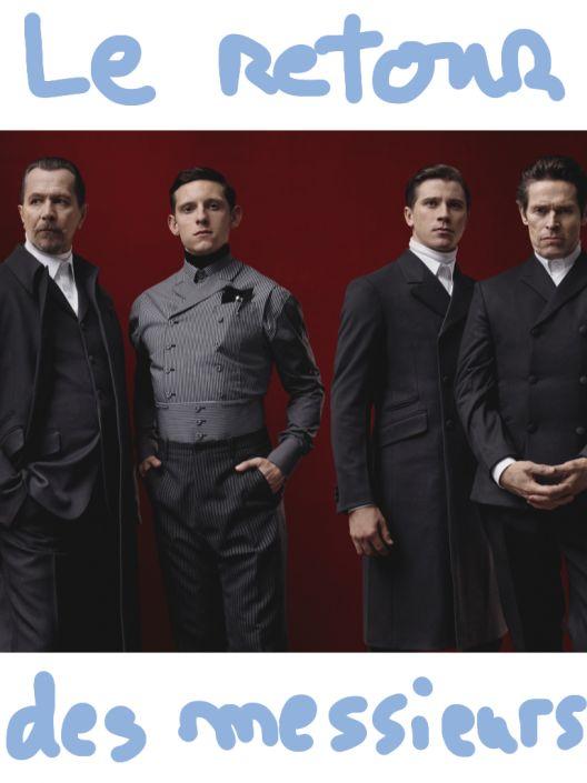 Les hommes en Prada
