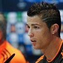 Cristiano Ronaldo in Champions League Press Conference