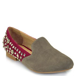 Jeffrey Campbell Studded FlatsDesign Shoes, Campbell Studs, Smoke Flats, Studs Loafers, Studs Flats, Style Pinboard, Jeffrey Campbell, Elegant Duo, Duo Wine
