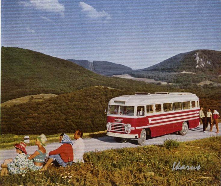 Икарус-311 (1954) < Русские и советские автобусы и троллейбусы, общественный транспорт России