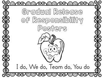 FREEBIE: Gradual Release Posters- Direct Interactive