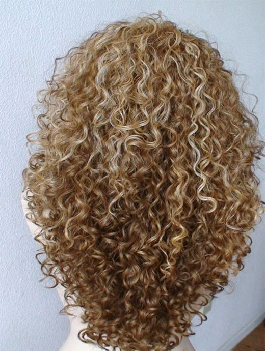 Perfectly Defined Long Curls in Simple or Adding a Knot Looks Prominent