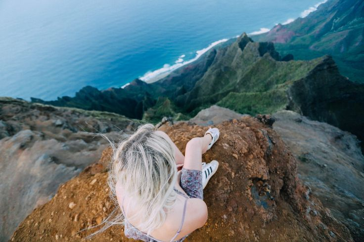 Camping on a Cliff in Kauai