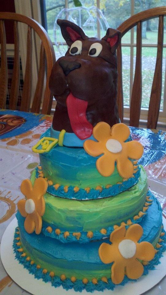 Gâteau Scooby Doo. #kids #cartoon #birthday #dog   – Janet Wolske