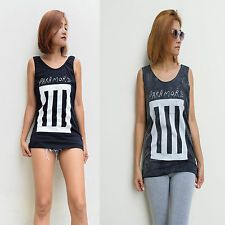 Unisex Paramore bares chaleco sin mangas Camiseta sin mangas Camiseta Nuevo Black Rock