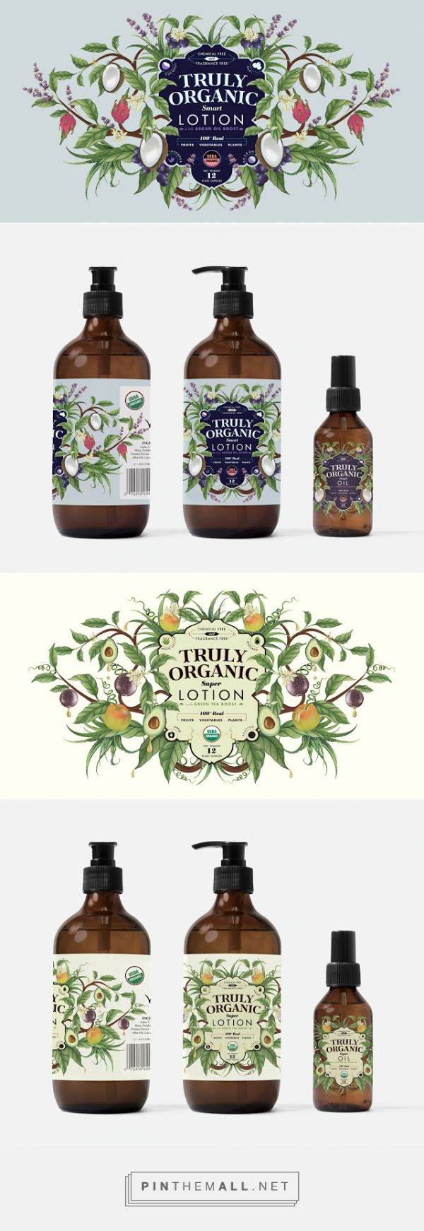 Blend Organic ‪#‎Skincare‬ ‪#‎packaging‬ designed by Charlotte Day - http://www.packagingoftheworld.com/2015/04/blend-organic.html