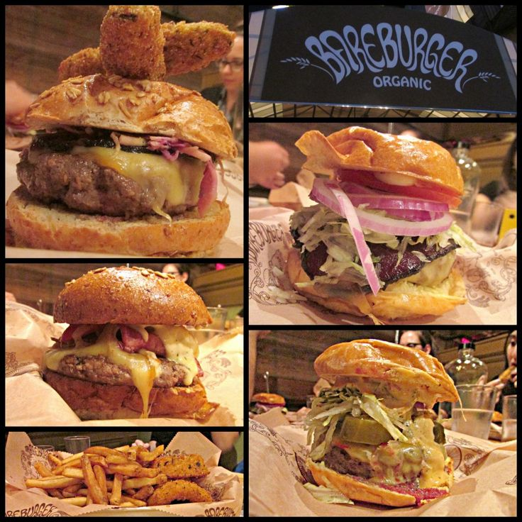 Bareburger.  I LOVE this place.