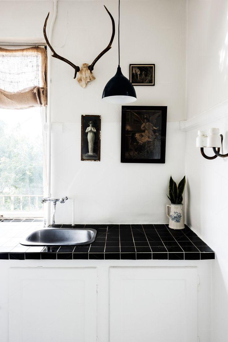 hipster kitchen design.  https i pinimg com 736x ac cf 3f accf3fad4a61d34