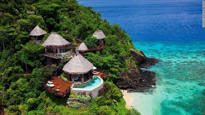 Ostrov Lacaula, Fidži.