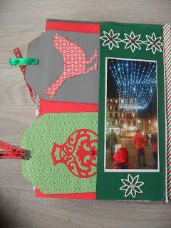 fairyscrappina: ALBUM DI NATALE Il mio album di Natale continua,,...