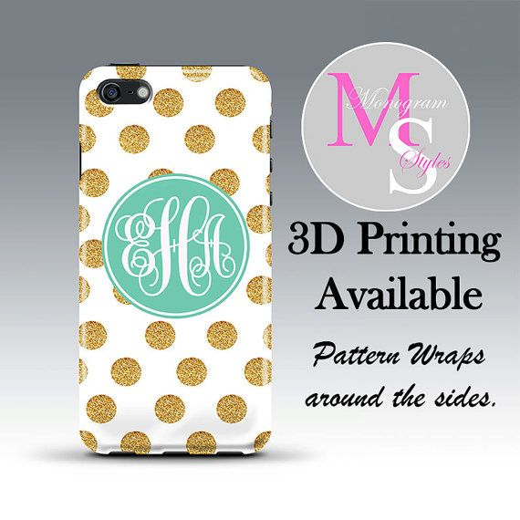 Monogram iPhone 6 Case Personalized Phone Case by MonogramStyles