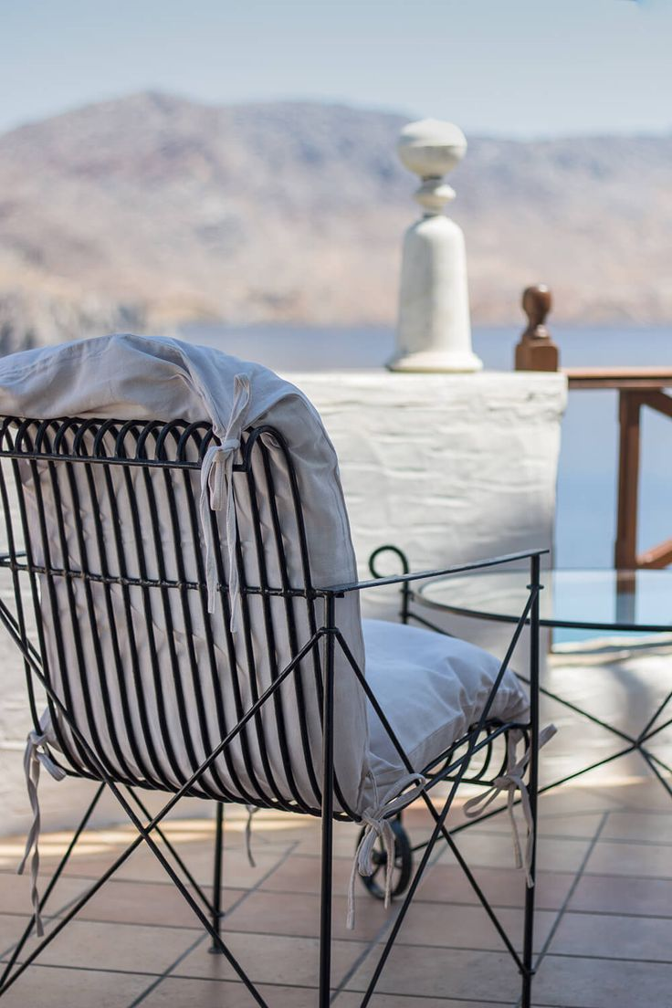 Hotel Emporio, Symi, Greece – book through i-escape.com || This idyllic Greek islands B&B has 6 romantic rooms and a lush waterfront garden