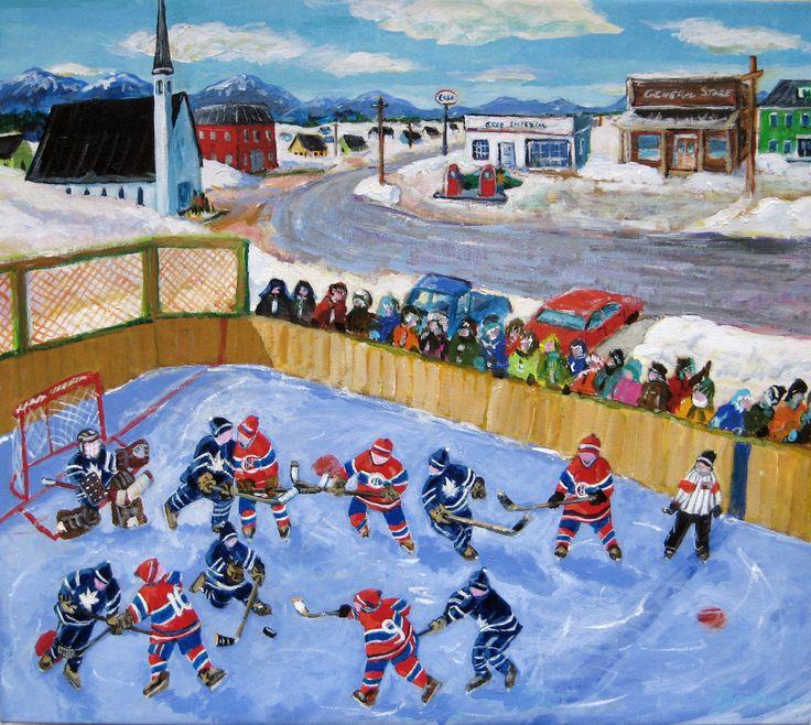 artist richard brodeur hockey - Google Search