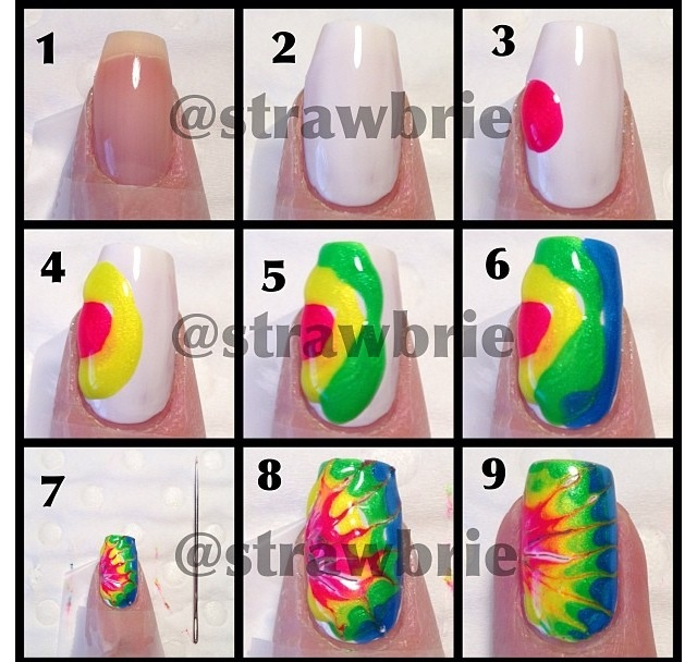 118 best tiedye images on pinterest tie dye nails dyes and tie dye nails tutorial prinsesfo Choice Image