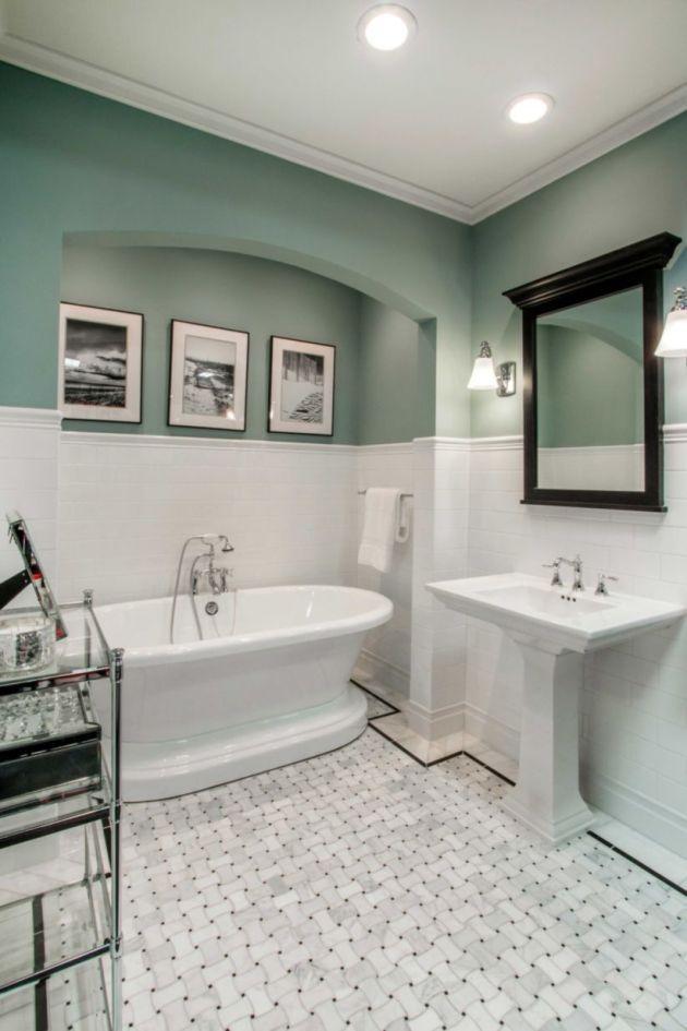 45 Great Bathroom Design With Marble Bathroom Tile Ideas