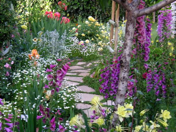 Flower Garden Path 1253 best yards without grass images on pinterest | garden ideas