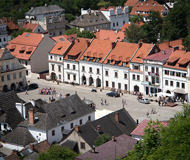 Kazimierz Dolny, Poland Artists have long flocked to this well-preserved hamlet near the Vistula River in central Poland. The untouched nature surrounding Kazimierz Dolny—including gorges and otherworldly tunnels created from intertwined tree roots—has provided inspiration for painters. But the town itself, with its stone-paved market square and Renaissance-era monuments, is also packed with art. For proof, tour the many galleries of Polish art tucked away on side streets.
