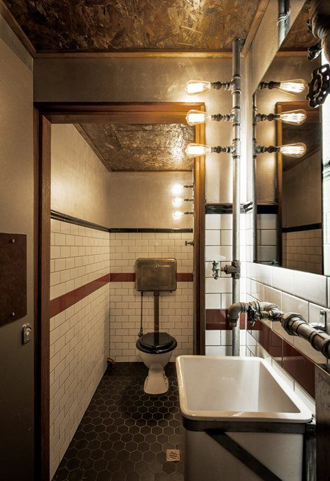 Donny S Bar Manly 2013 Luchetti Krelle Restroom Design