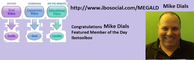 Congratulations Mike Dials Featured Member of the day on Ibotoolbox  http://www.ibosocial.com/MEGALD