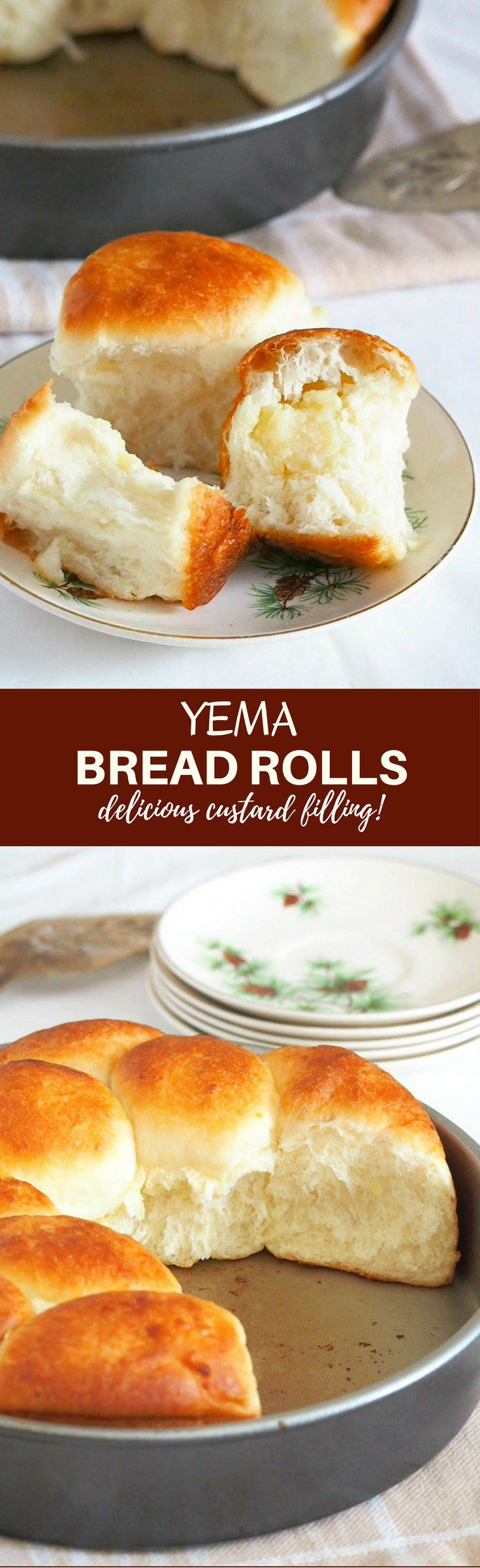 Yema Bread Rolls with soft, fluffy bread and creamy yema filling are the ultimate snacks. Enjoy for breakfast or anytime you need a sweet treat!