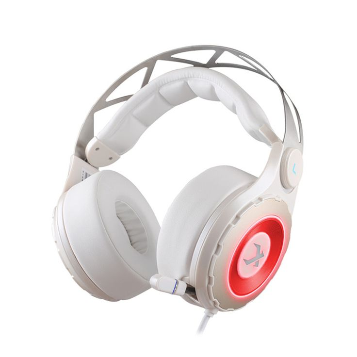 XIBERIA T18 7.1 Digital Surround Sound Gaming Emitting Headphones with Retractable Microphone for PC