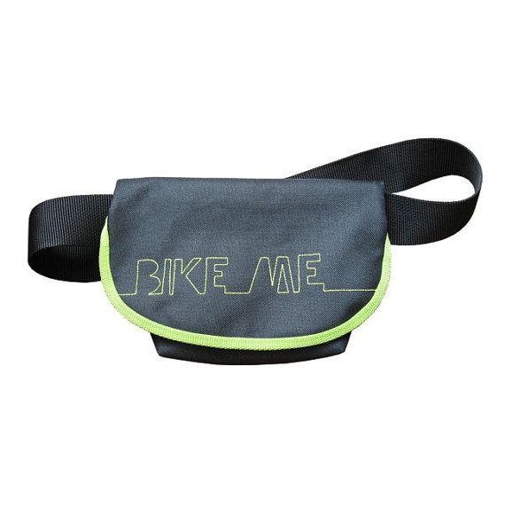 BIKE ME waterproof bike hip bag bike bag cycling by lukola on Etsy, $42.00