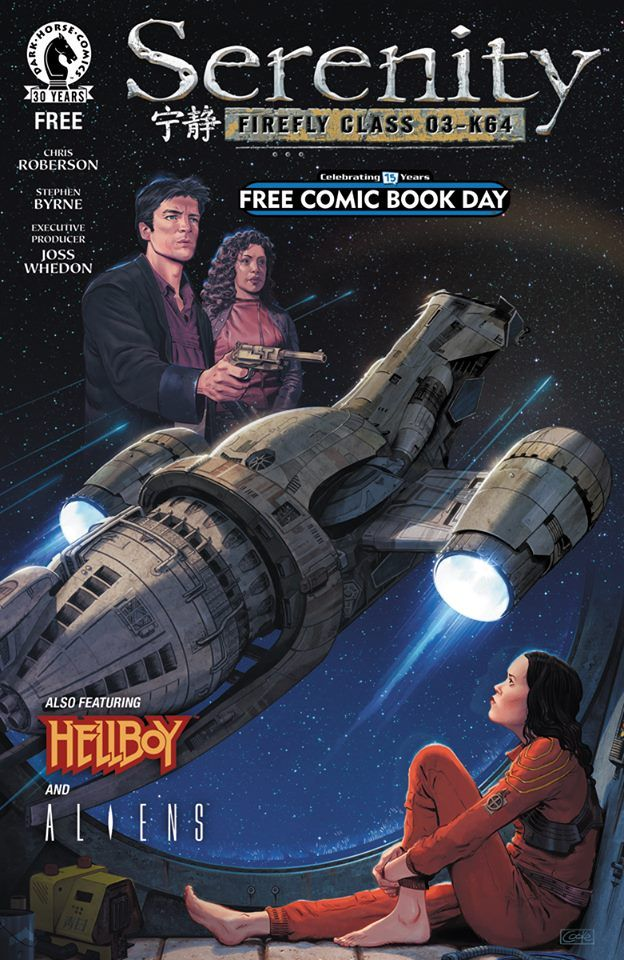 Free Comic Book Day, May 7, 2016.