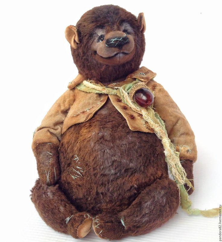 Купить Шоколадный пуф - комбинированный, шоколадный, шоколадный цвет, мишка, мишка тедди