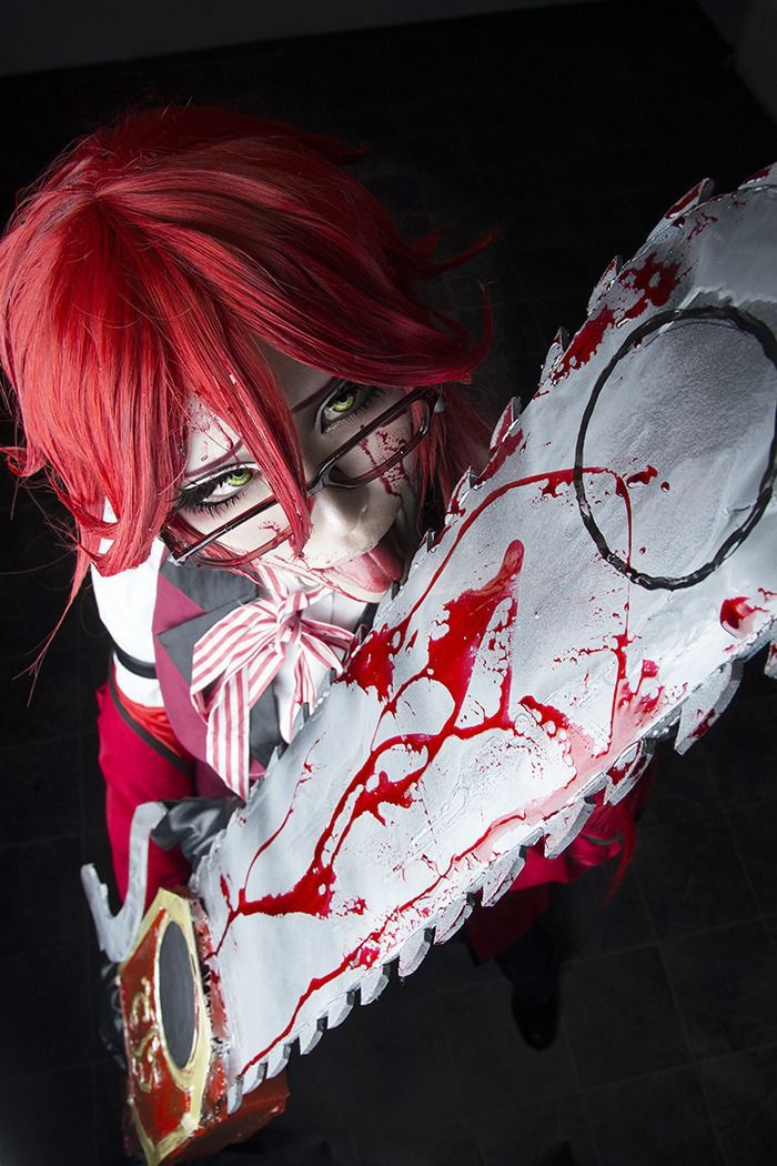 Sakuya Grell Sutcliff Cosplay Photo - WorldCosplay