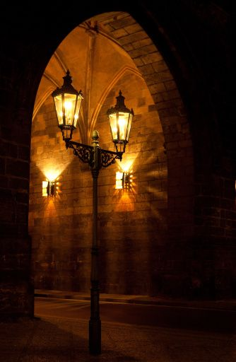Street Light in Prague