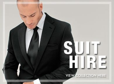 Ferrari Formalwear suit hire range boasts over 20 styles ranging from traditional black dinner suits and tails to the latest fashion lounge suits.
