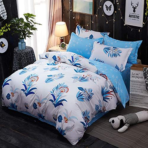Promotion Comfortable Floral Print 2//3 Piece Soft Bed Sheet Set TWIN//KING QUEEN