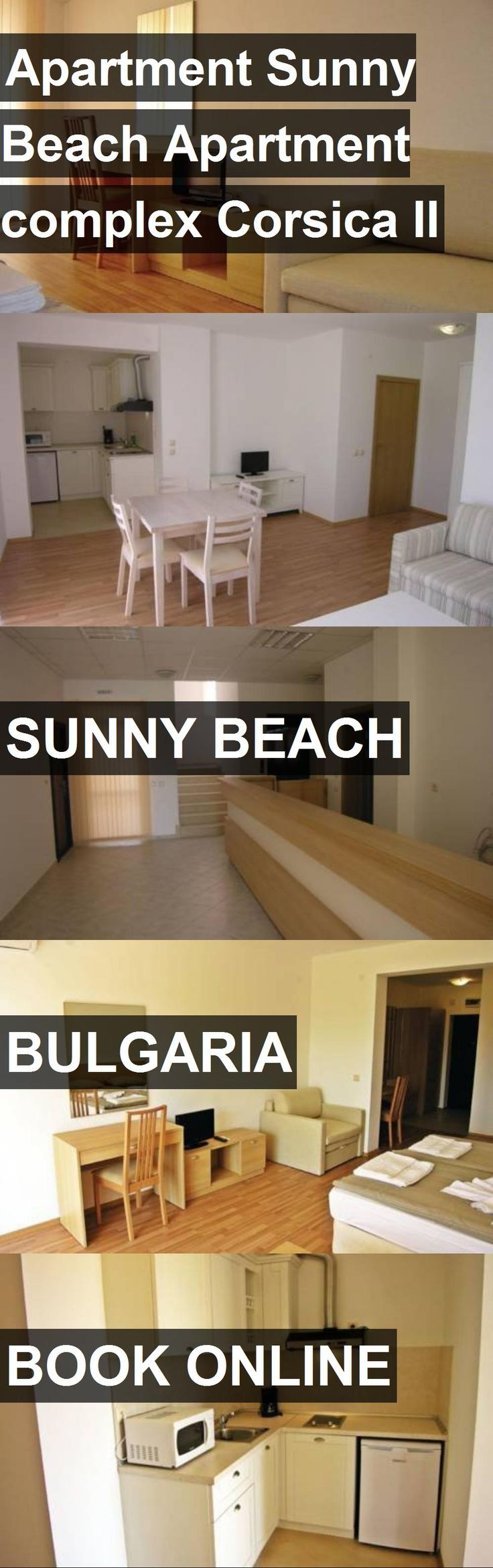Apartment Sunny Beach Apartment complex Corsica II in Sunny Beach, Bulgaria. For more information, photos, reviews and best prices please follow the link. #Bulgaria #SunnyBeach #travel #vacation #apartment