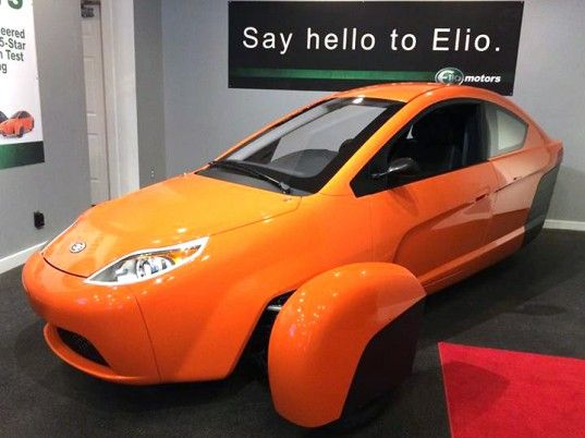 Elio Motors, Elio Motors P4, green transportation, green car, efficient car, mpg, automotive, automotive news