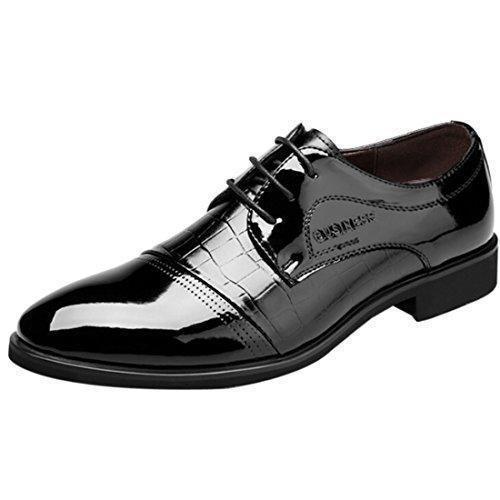 Oferta: 27.99€ Dto: -15%. Comprar Ofertas de Oasap Hombre Zapatos Tacón Grueso Cordones para Arriba Cima Baja barato. ¡Mira las ofertas!